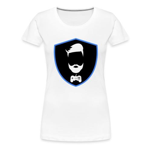 Kalzifertv-logo - Dame premium T-shirt