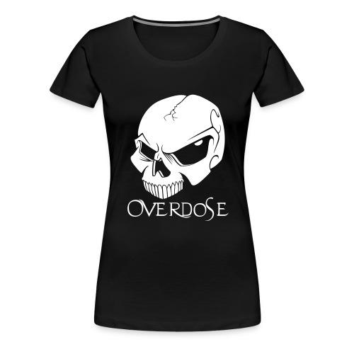 overdose front 1 - Frauen Premium T-Shirt