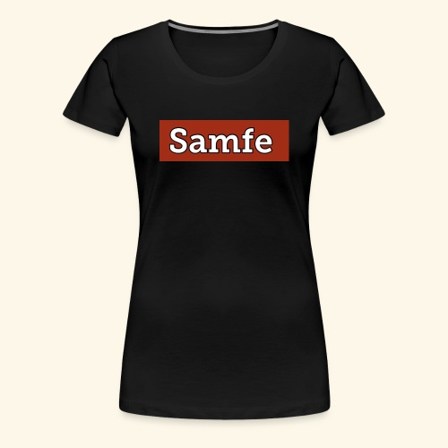 Samfe - Premium-T-shirt dam