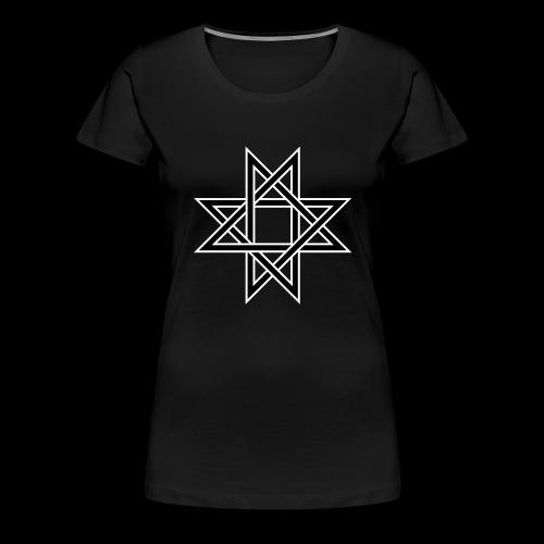 Octagram - Frauen Premium T-Shirt