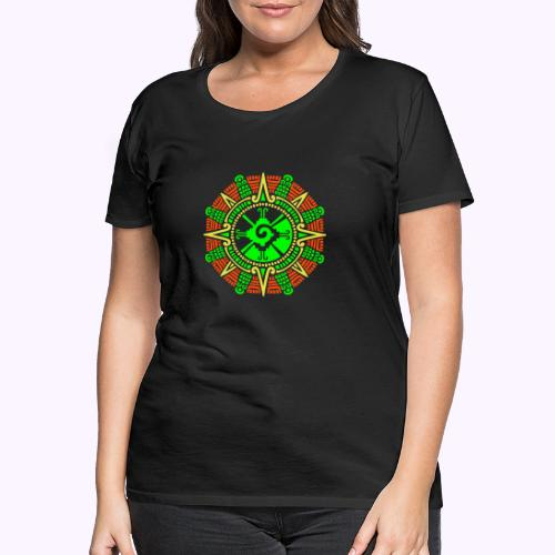 Hunab Ku Mayan Moonstone - Women's Premium T-Shirt