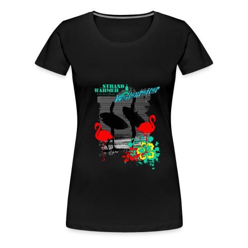 StrandWärmer Wellenreiter - Frauen Premium T-Shirt