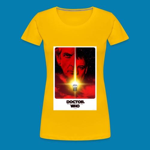 Twelfth Doctor and the Master poster - Maglietta Premium da donna