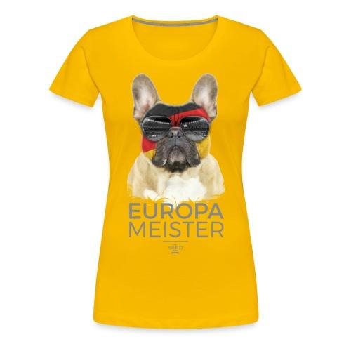 Europameister Deutschland - Frauen Premium T-Shirt