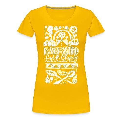 backyard 2 - T-shirt Premium Femme