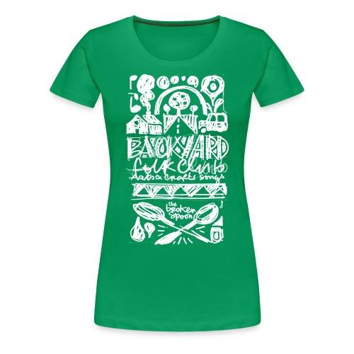 Backyard - T-shirt Premium Femme