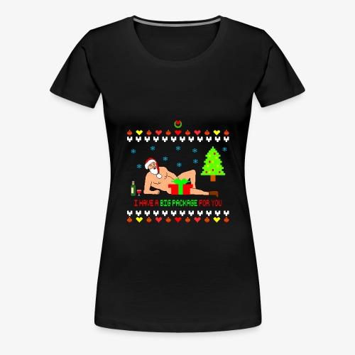 Sexy Romantic Santa Ugly Xmas - Frauen Premium T-Shirt