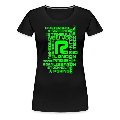R-CITY - Frauen Premium T-Shirt