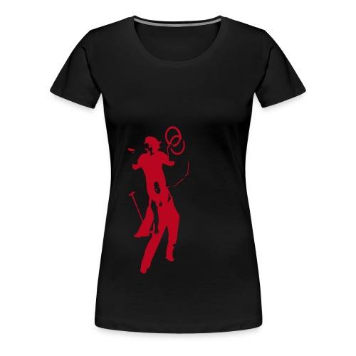 Logo LES TROUBADOURS - T-shirt Premium Femme