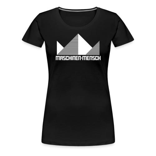 Maschinen-Mensch Logo black - Frauen Premium T-Shirt