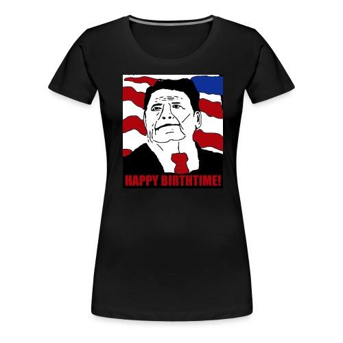 Reagan Cakeface - Women's Premium T-Shirt