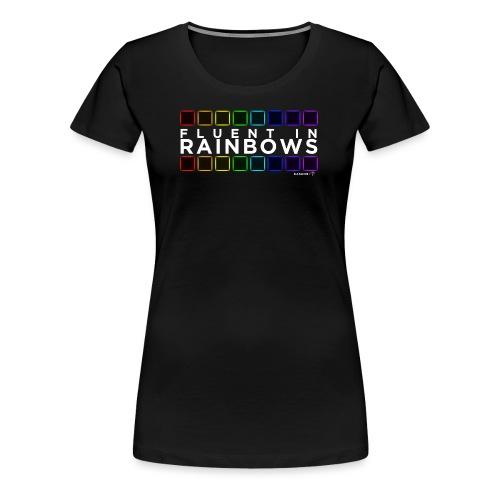 Fluent In Rainbows // Kaskobi - Women's Premium T-Shirt