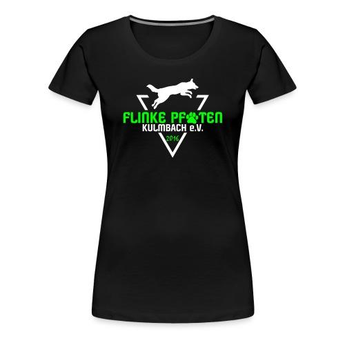 Flinke Pfoten Logo - Frauen Premium T-Shirt