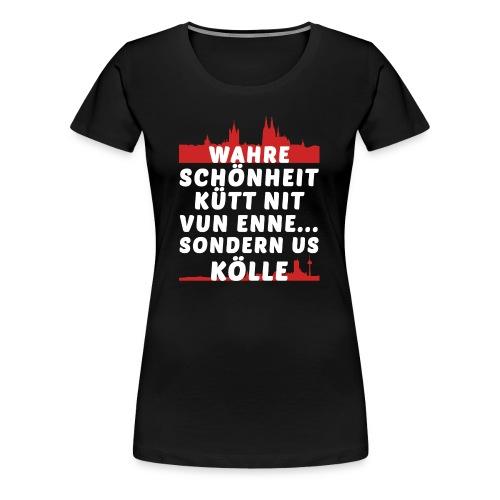 Wahre Schönheit aus Köln - Frauen Premium T-Shirt