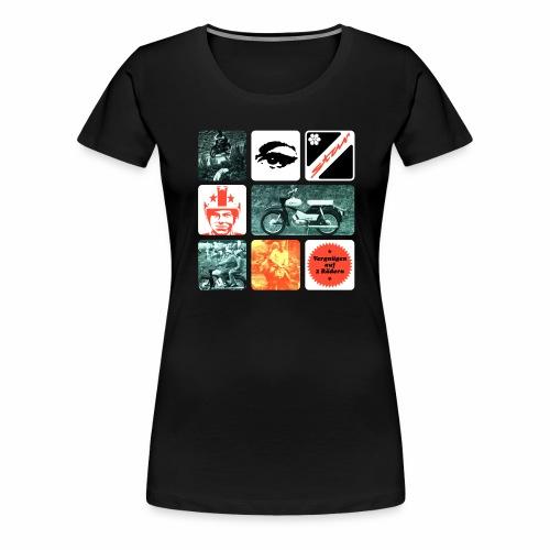 Simson Star Moped - Women's Premium T-Shirt