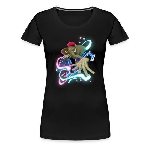 eleswag - Camiseta premium mujer
