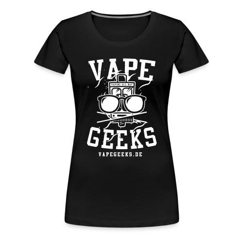 Logo AI schwarz - Frauen Premium T-Shirt