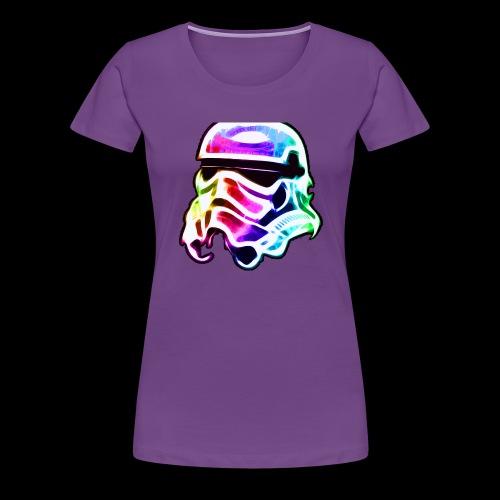 Rainbow Stormtrooper - Women's Premium T-Shirt