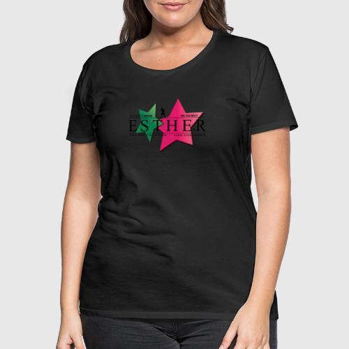 ESTHER - Dame premium T-shirt
