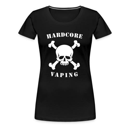 hardcorevaping - Frauen Premium T-Shirt