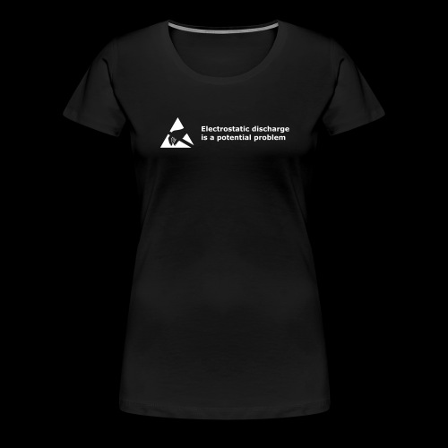 Small Potential Problem - Women's Premium T-Shirt