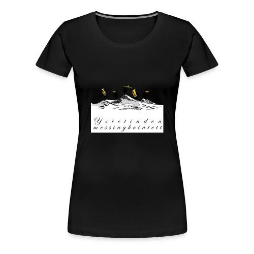 argaste 3 skjorte - Premium T-skjorte for kvinner