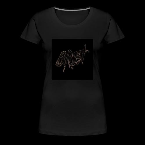 -Logo Qrust- - T-shirt Premium Femme