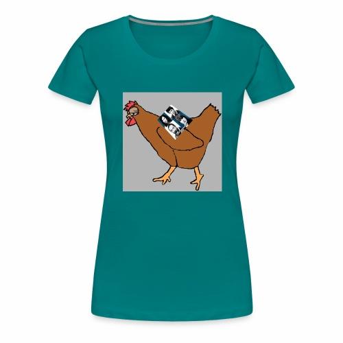 Quad Chicken Logo - Women's Premium T-Shirt