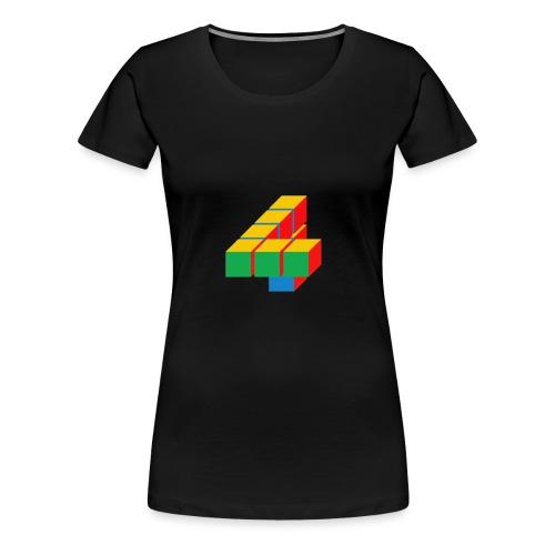 4 - Vrouwen Premium T-shirt