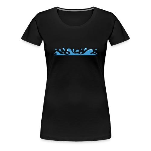 Splash - Camiseta premium mujer