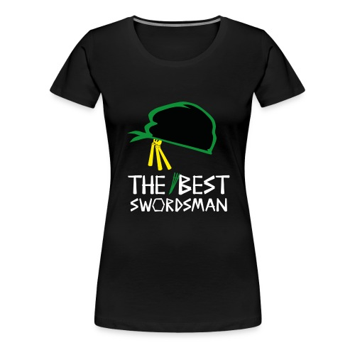 op rorano zorro the best swordsman wt - Frauen Premium T-Shirt