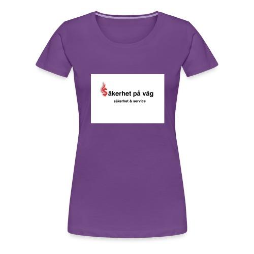 SakerhetPaVag - Premium-T-shirt dam