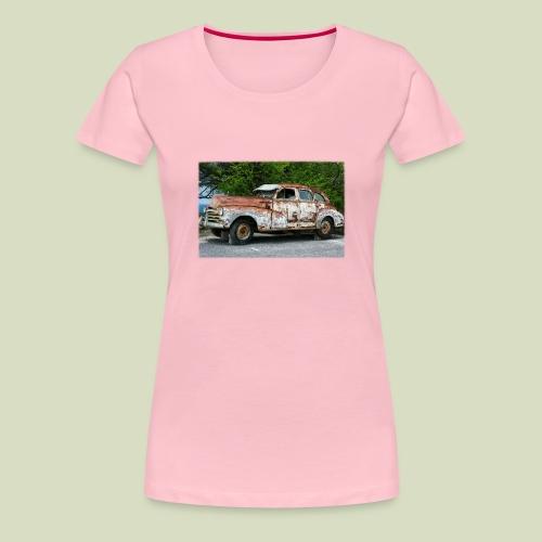 RustyCar - Naisten premium t-paita