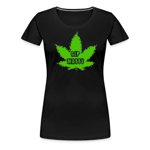 GLP Ganja transparent png - Women's Premium T-Shirt