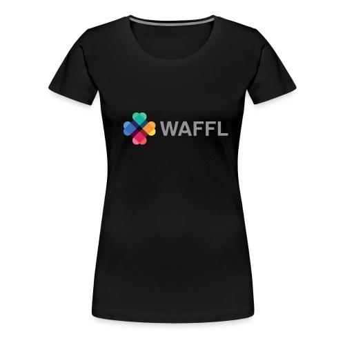 WAFFL_IMAGE_LOGO_NO_BG (3 - Women's Premium T-Shirt