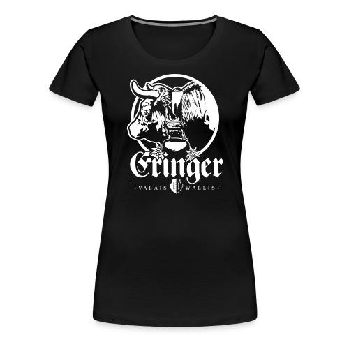 ERINGER – VALAIS / WALLIS - Frauen Premium T-Shirt