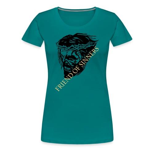 JESUS scream - Frauen Premium T-Shirt