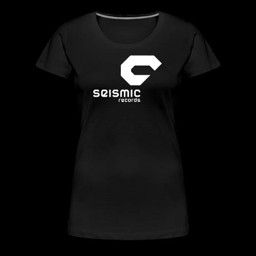 Seismic Records - Women's Premium T-Shirt