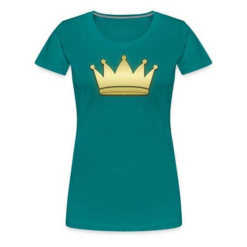 Paradise Crown Gold - Vrouwen Premium T-shirt