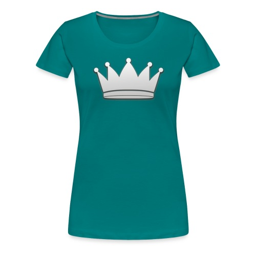 Paradise Online Crown Silver - Vrouwen Premium T-shirt