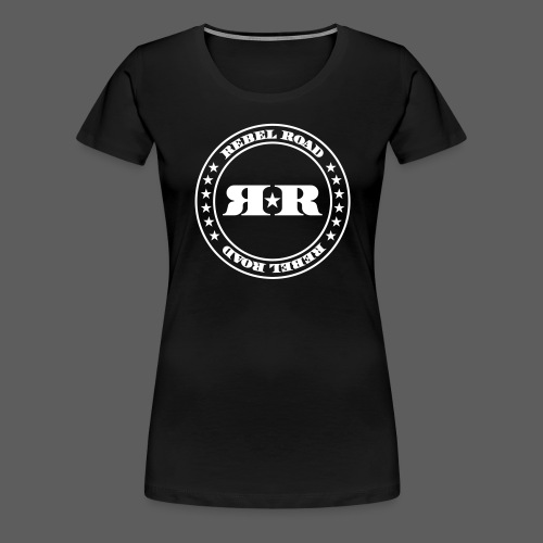 RR White Circle - Women's Premium T-Shirt