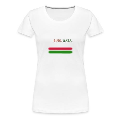 Je Suis Gaza - Dame premium T-shirt