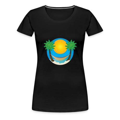 Île de rêve - T-shirt Premium Femme