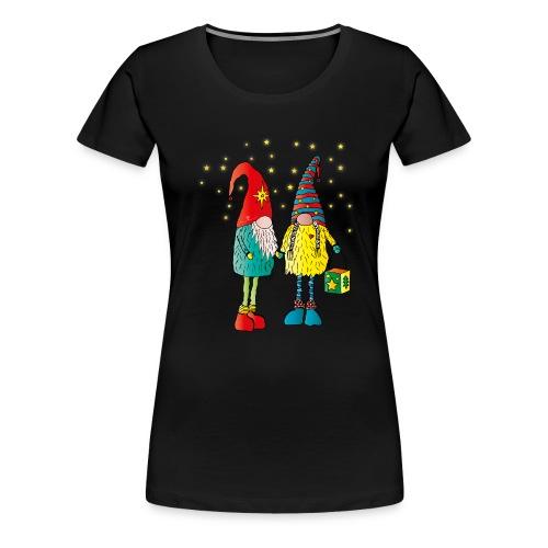 Weihnachtswichteln - Frauen Premium T-Shirt