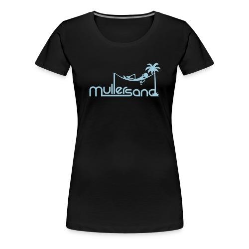 mullersand pfade - Frauen Premium T-Shirt
