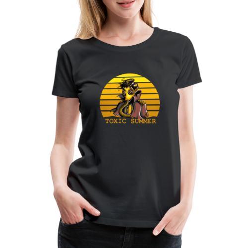 Toxic Summer - Camiseta premium mujer