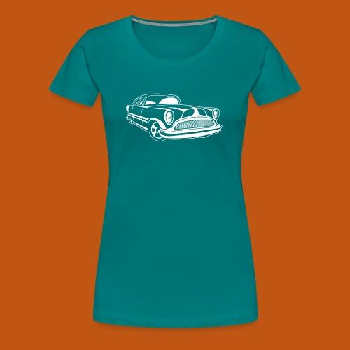 Lowrider / Oldtimer / Muscle Car 03_weiß - Frauen Premium T-Shirt