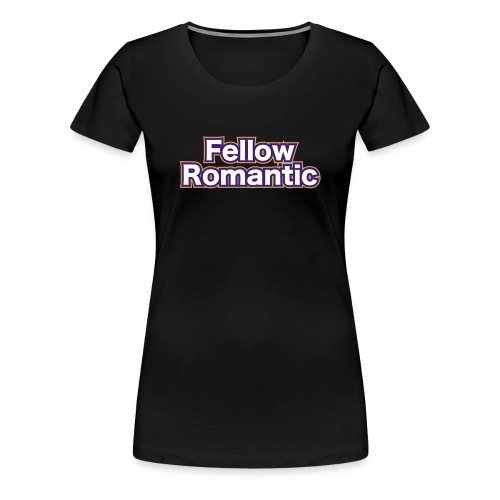 Fellow Romantic Logo - Women's Premium T-Shirt