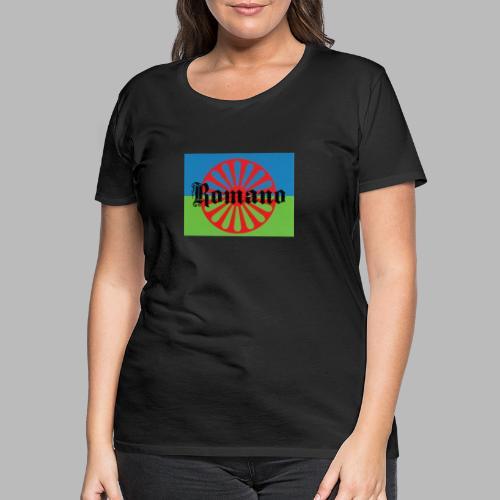 lennyromanoflag - Premium-T-shirt dam