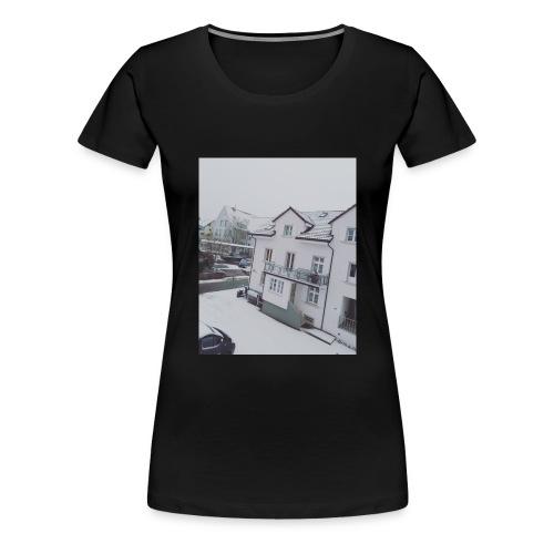 Schnee - Frauen Premium T-Shirt